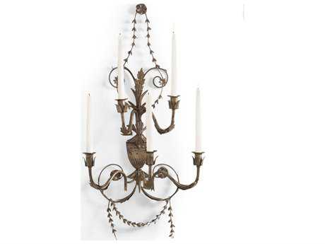 Chelsea House Grand Tour Brown Italian Wall Candle Holder