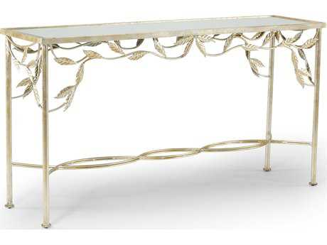 Chelsea House Maple Street Silver 60''L x 16''W Rectangular Console Table