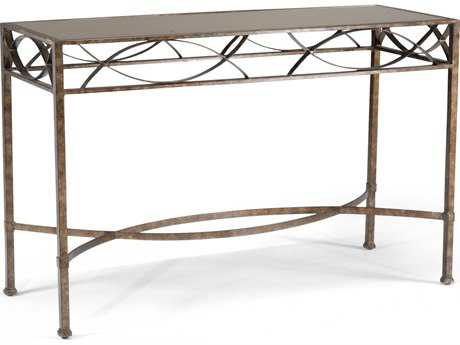 Chelsea House Hamilton Old Bronze 50''L x 20''W Rectangular Console Table