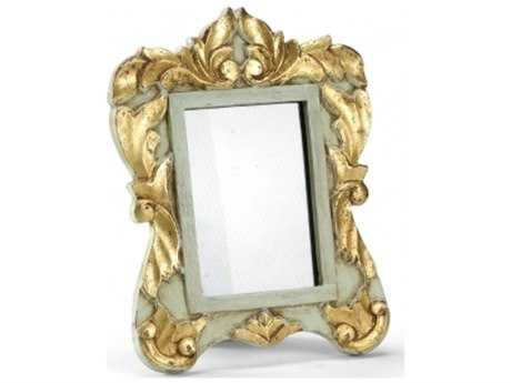 Chelsea House Blue Gold Carved Frame 5X7 Picture Frame