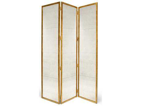 Chelsea House Lisa Kahn Classic Gilt Screen Gold Room Dividers