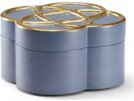 Chelsea House Love Knot Blue Jewelry Box