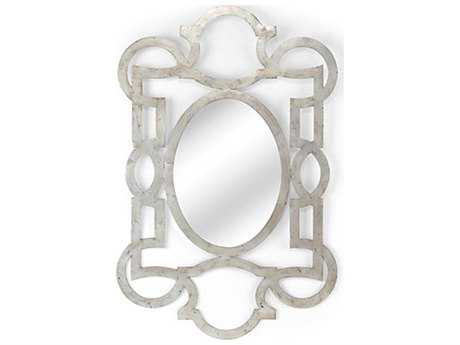 Chelsea House Lisa Kahn Tracery Mirror Silver Wall Mirror