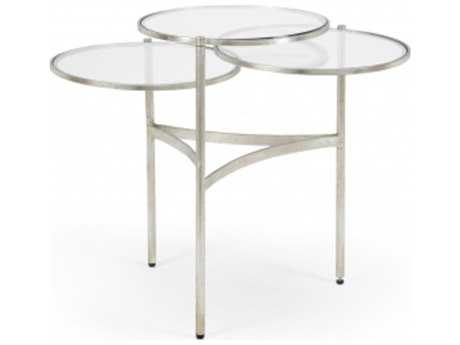 Chelsea House Bristol Silver Iron 50 x 25 Coffee Table