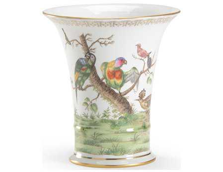 Chelsea House Hand Decorated Porcelain Brazel Cachepot