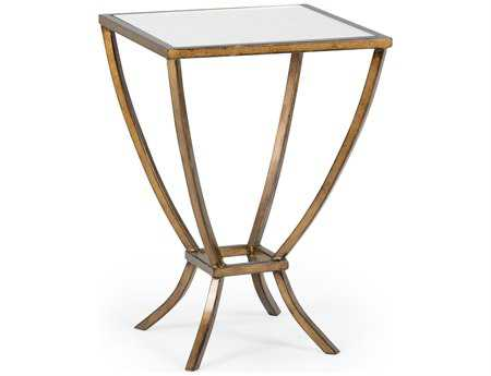 Chelsea House 14 Square Antique Bronze Harper Side Table
