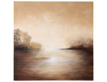 Chelsea House Hand Painted Quiet Calm Wall Art