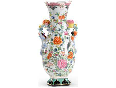 Chelsea House Hand Decorated Porcelain Chinese Vase