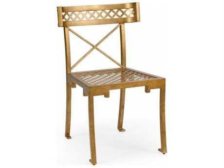 Chelsea House Kismos Antique Gold Accent Chair