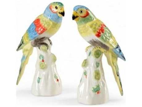 Chelsea House Achille Parrots Set of Two Sculpture