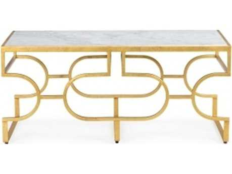 Chelsea House Tiered Console Gold Coffee Table