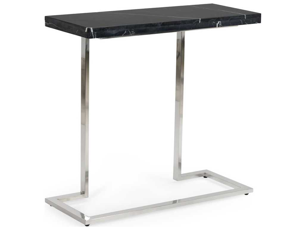 Chelsea house new york nickel with black marble 35 39 39 l x 14 for 35 console table