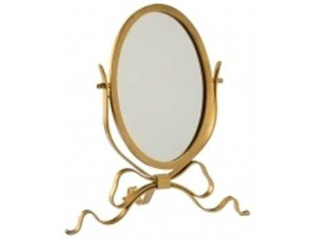 Chelsea House Ribbon Antique Gold Dressing Table Mirror
