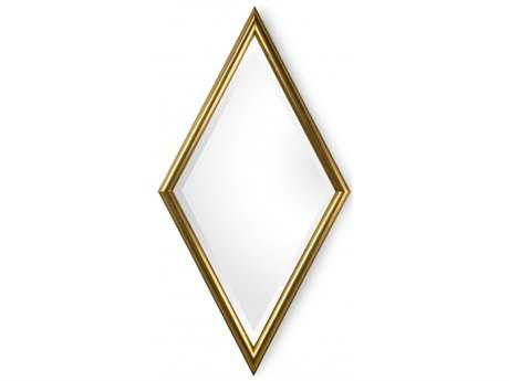 Chelsea House Diamond Gold Wall Mirror
