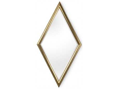 Chelsea House Diamond Antique Silver Wall Mirror
