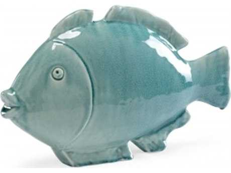 Chelsea House Small Fish Celadon Sculpture