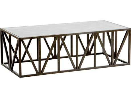 Chelsea House Longwood Bronze 50''L x 24''W x 16''H Rectangular Coffee Table