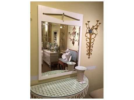 Chelsea House Deloach White Wall Mirror