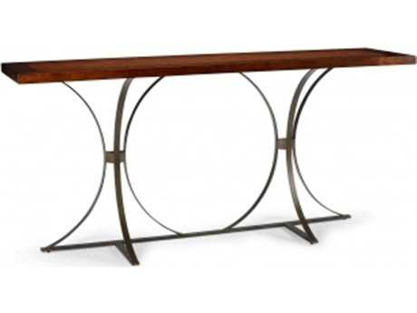 Chelsea House Planter 78 x 20 Rectangular Redwood Console Table