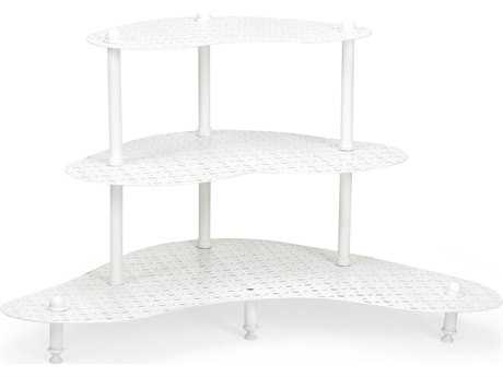 Chelsea House Crowder White Plant Stand