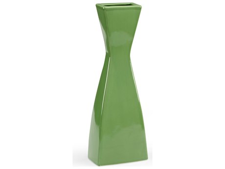 Chelsea House Architectural Green Vase