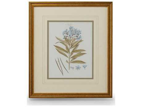 Chelsea House Bashful Blue Florals III Painting