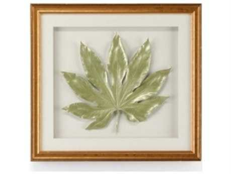 Chelsea House Aralia Leaf In Sage Pearl Painting