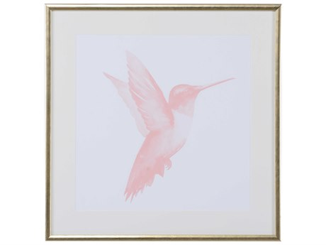 Chelsea House Pastel Hummingbird III Wall Painting