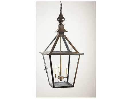 Chelsea House Black Three-Light Pendant Light