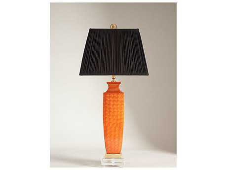 Chelsea House Selma Enamel Orange Table Lamp