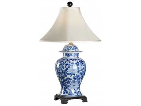 Chelsea House B & W Temple Jar Table Lamp