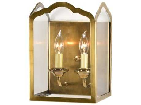 Chelsea House Arch Brass Two-Light Wall Sconce