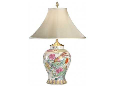 Chelsea House Painted Quali Porcelain Table Lamp
