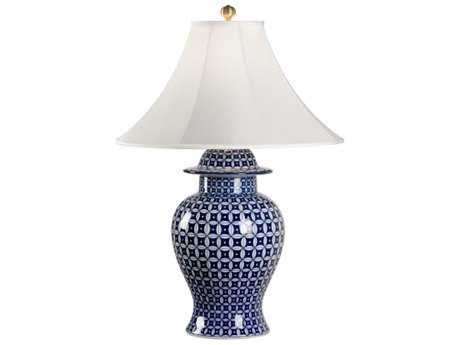 Chelsea House Jordan Blue Vase Lamp