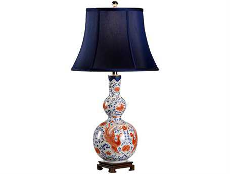 Chelsea House Chinese Pheasant Vase Table Lamp