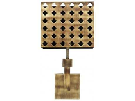 Chelsea House Antique Brass 10'' Wide Wall Sconce