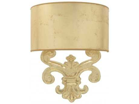 Chelsea House Sanders Gold Wall Sconce
