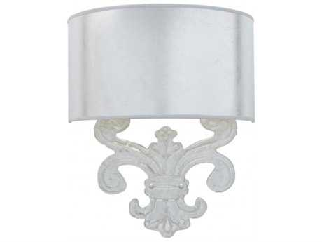 Chelsea House Sanders Silver  Wall Sconce