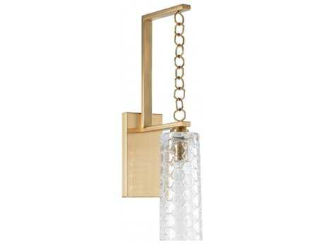 Chelsea House Casey Brass Wall Sconce