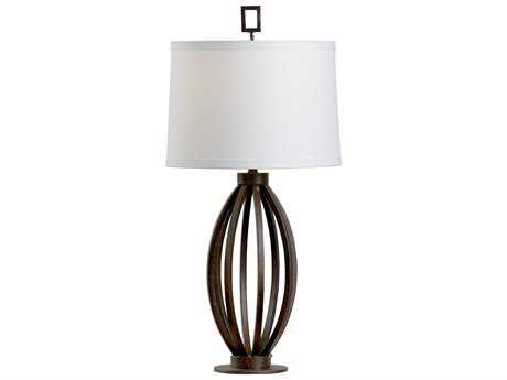 Chelsea House Montana Textured Bronze Buffet Lamp