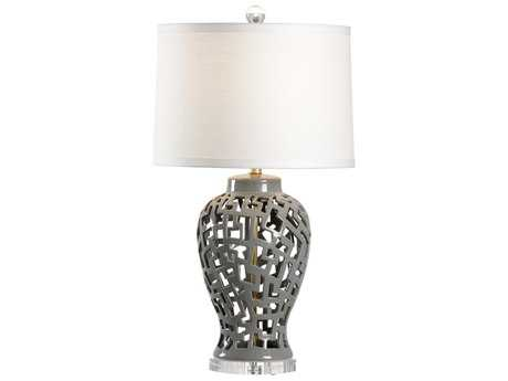 Chelsea House Omri Gray Buffet Lamp