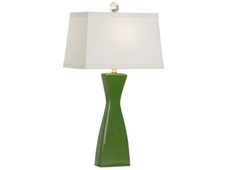 Chelsea House Architectural Apple Green Buffet Lamp