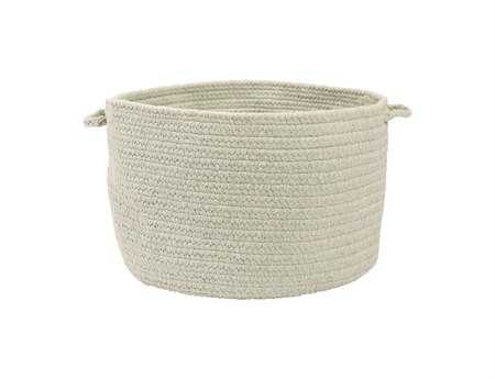 Colonial Mills Allure Misted Green Utility Basket