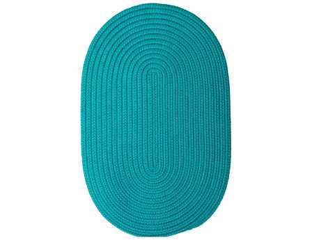Colonial Mills Boca Raton Turquoise Area Rug