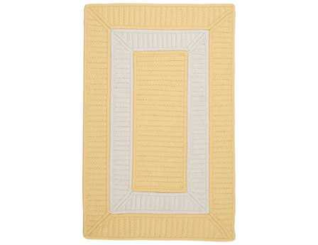 Colonial Mills Rope Walk Rectangular Yellow Area Rug