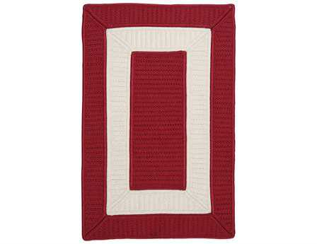 Colonial Mills Rope Walk Rectangular Red Area Rug