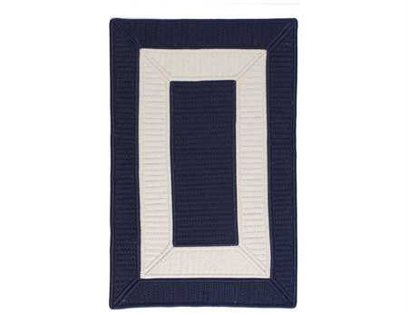 Colonial Mills Rope Walk Rectangular Navy Area Rug