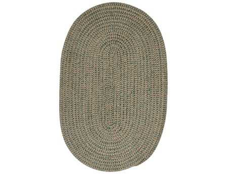 Colonial Mills Softex Oval Myrtle Green Check Area Rug
