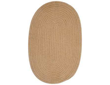 Colonial Mills Softex Oval Buff Check Area Rug