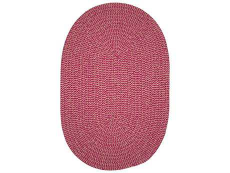 Colonial Mills Softex Check Magenta Check Oval / Round Area Rug